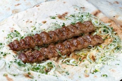 Люля-кебаб телятина