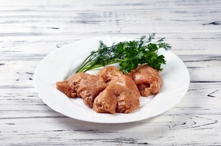 Маринованное куриное филе